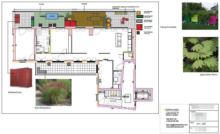 Penthouse Dachterassengestaltung Balkongestaltung Balkonplanung